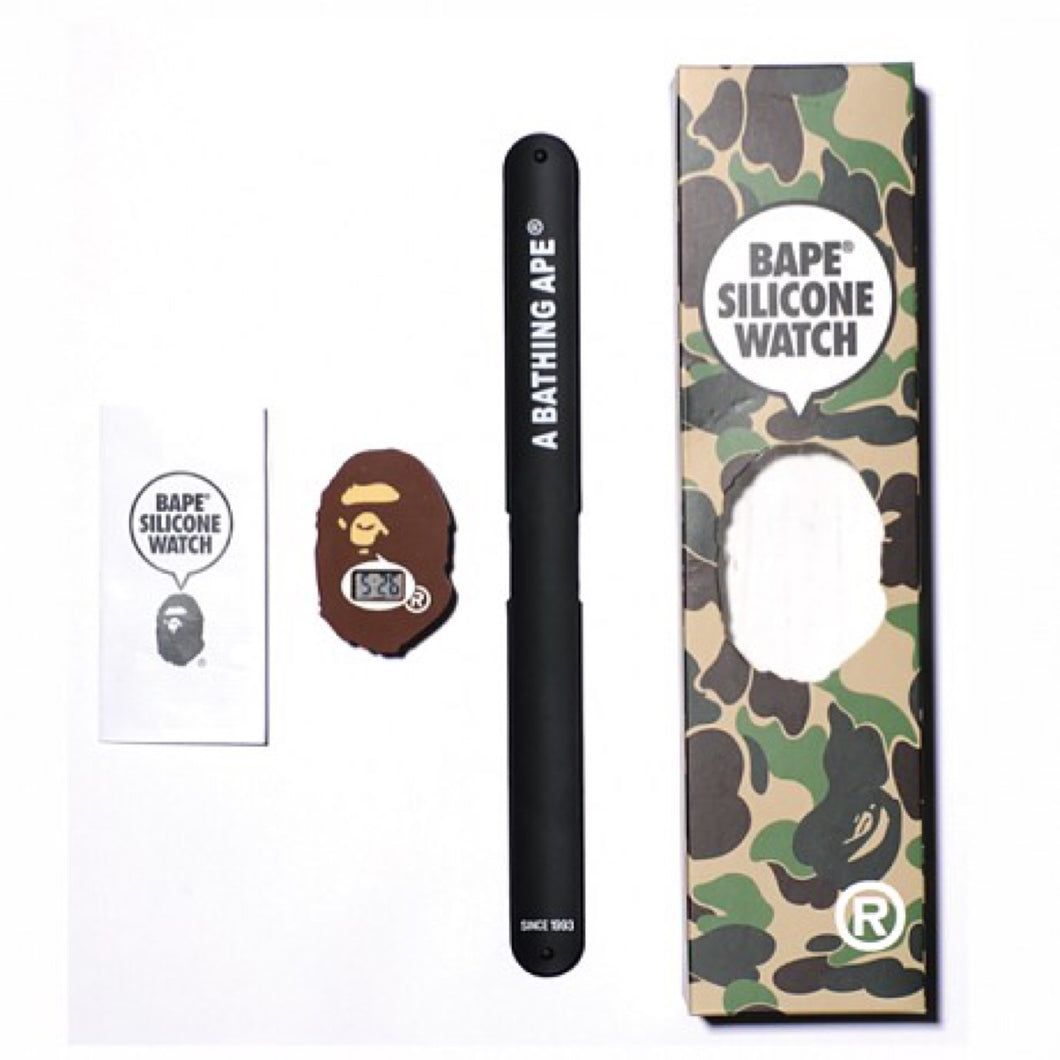Bape silicone watch 20th anniversary Watch (Asia exclusive)