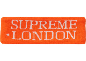Supreme International Headband Orange