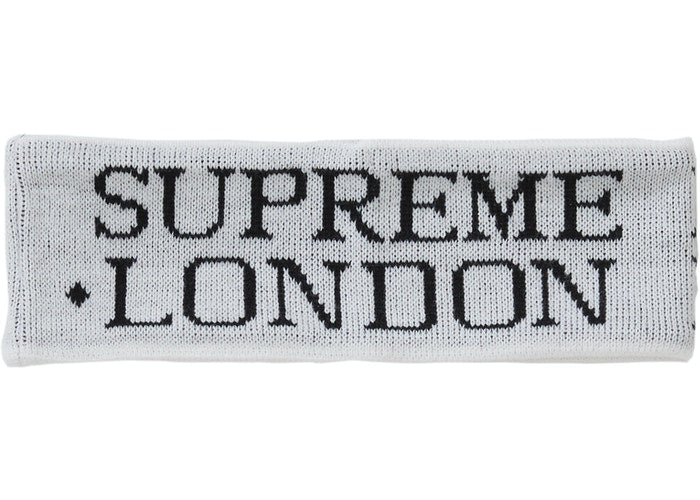 Supreme International Headband White