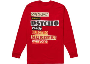 Supreme Sacred Unique L/S Tee Red