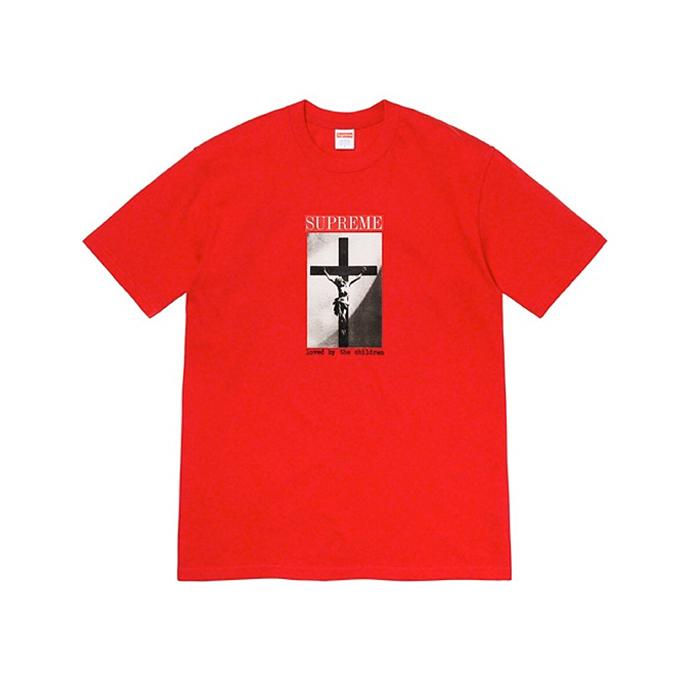 Supreme Loved By The Children Tee Red