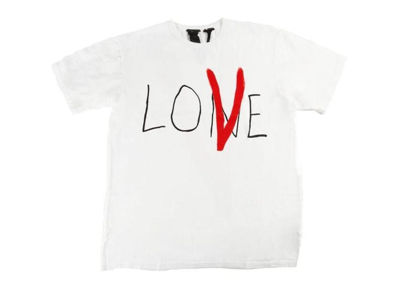 VLONE LONE LOVE TEE WHITE