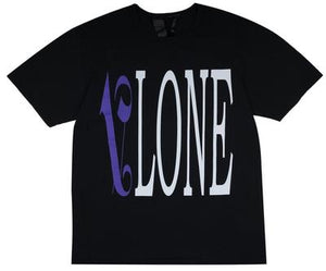 VLONE PALM ANGELS PURPLE TEE