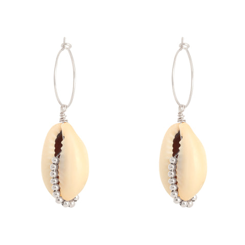 "Ohrring ""pearl shell"""