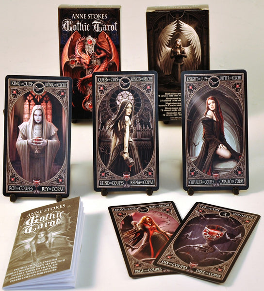 Gothic Tarot Cards by Anne Stokes