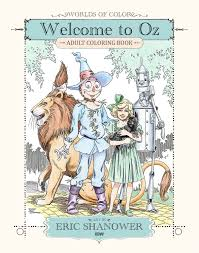 Welcome To Oz Colouring Book