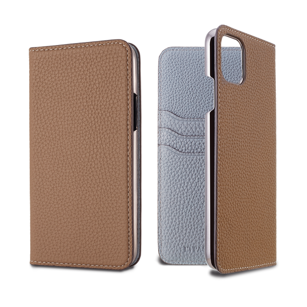 2019 AW - German Shrunken Calf Folio Case for iPhone 11 Pro Max