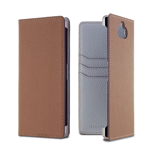 2019 AW - German Shrunken Calf Folio Case for Xperia 8