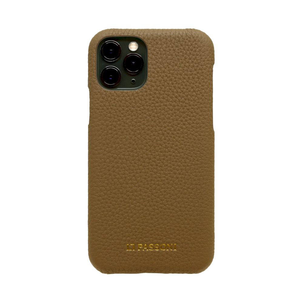 German Shrunken Calf Wrap Case for iPhone 11