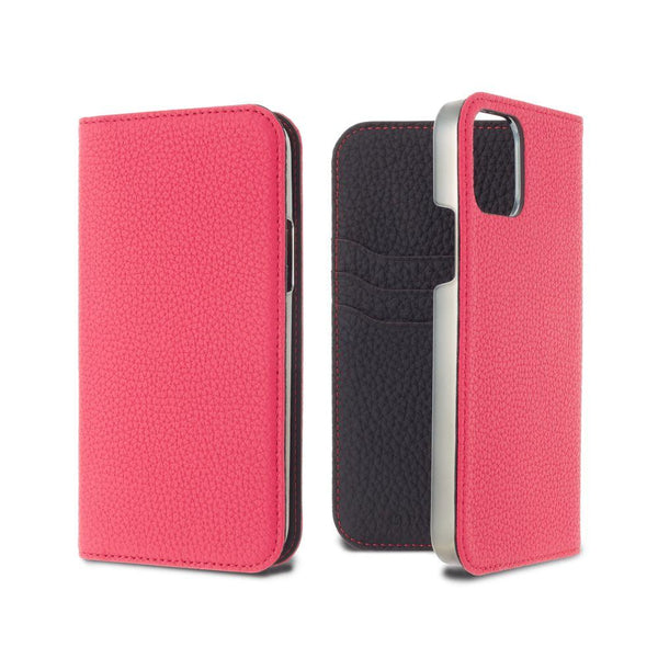 German Shrunken Calf Folio Case for iPhone 11