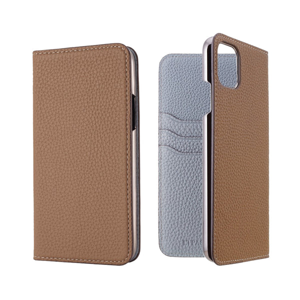 German Shrunken Calf Folio Case for iPhone 12/12 Pro