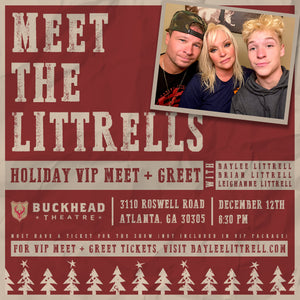 Celebrate The Season Meet and Greet with the Littrell's