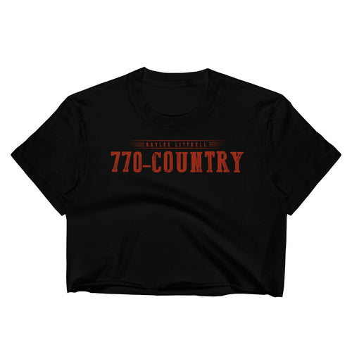 770-Country Women's Crop Top