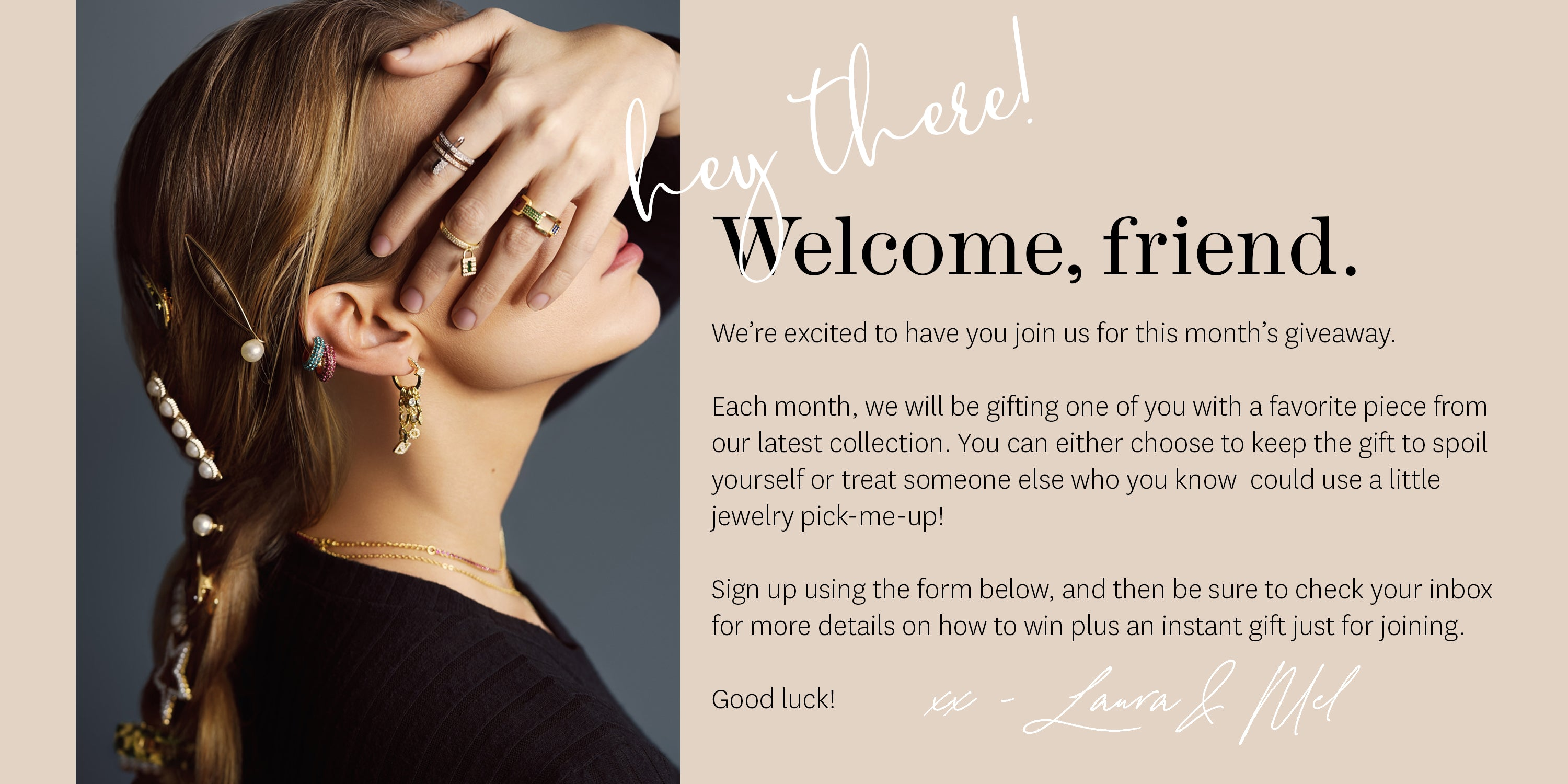 FAX Jewelry | Join our monthly giveaway