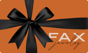 FAX Jewelry Gift Cards