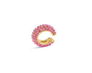 FAX Jewelry | 'Shine Bright' Pink and Gold Ear Cuff