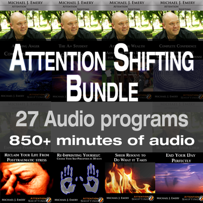 Attention Shifting Audio Program Bundle