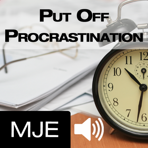 Put Off Procrastination - NLP mp3 and Hypnosis Mp3