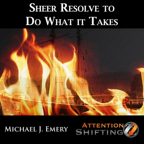 Sheer Resolve to Do What It Takes - NLP mp3 and Visualization mp3