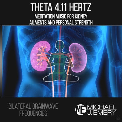 Theta 4.11 Hertz Meditation Music for Kidney Ailments and Personal Strength