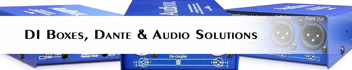 DI Boxes, Dante & Audio Solutions