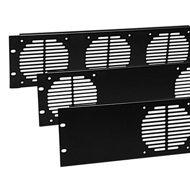 Penn Elcom -  R1268/3UK/F2 - 3U Rack Fan Panel