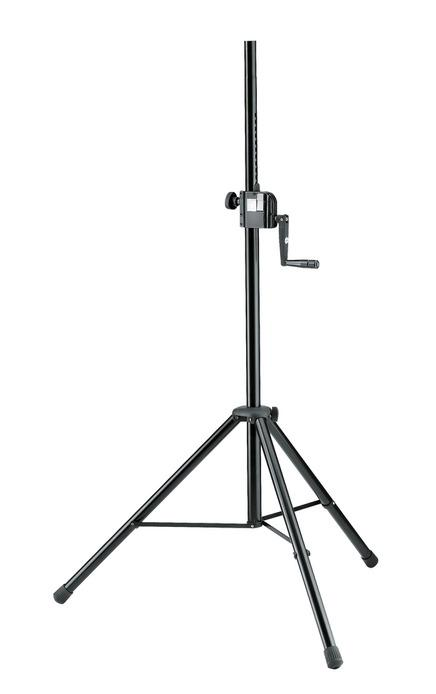 K&M - 21302-009-55 - Speaker Stand - Hand Crank And Push Button System.
