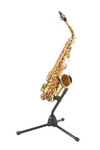 Load image into Gallery viewer, K&M - 14300-000-55 - Eb Alto & Bb Tenor Saxophone Stand.
