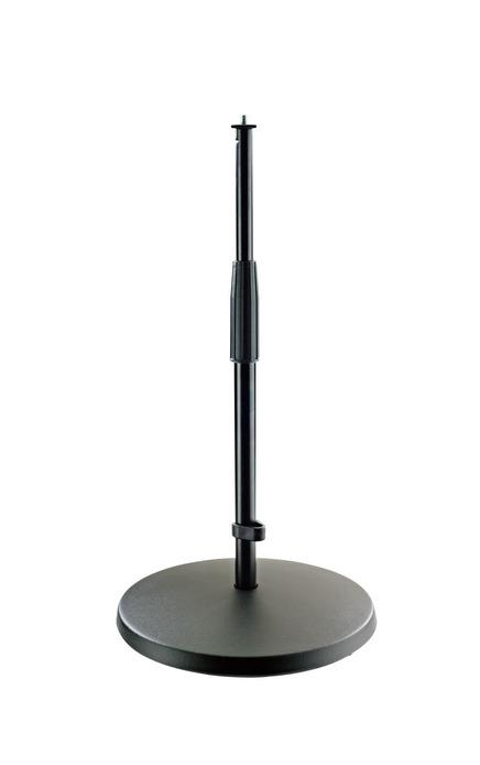 K&M - 23323-300-55 - Mic Stand - Medium Height With Heavy Cast Iron Base.