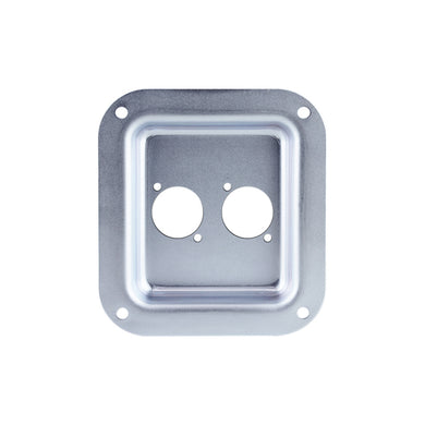 Penn Elcom - D0947Z - Small Dish Punched for 2 x D-Series Connectors - PennBrite