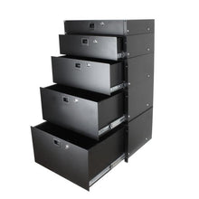 Load image into Gallery viewer, Penn Elcom - 3234LK - 4U Rack Drawer with Slam Latch and Key Lock.