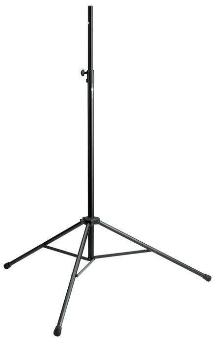 K&M - 21420-000-55 - Speaker/Monitor Stand - Lightweight Aluminum Stand For Loads Up To 12 kg.