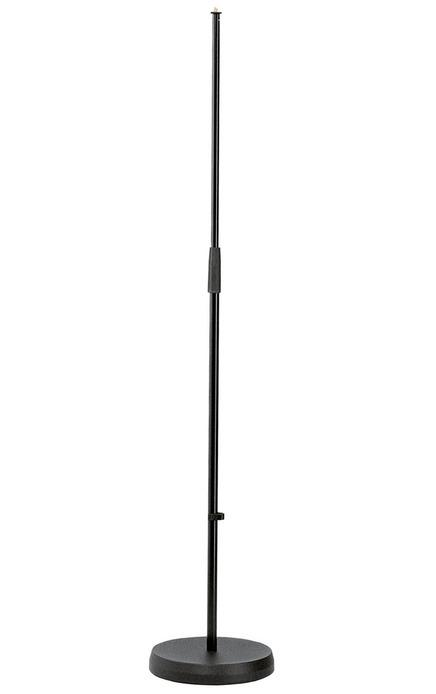 K&M - 26000-300-55 - Mic Stand - Round Base - Straight.
