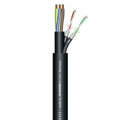 Sommer Cable - Monolith 2 Hv - Power And DMX/Signal Cable