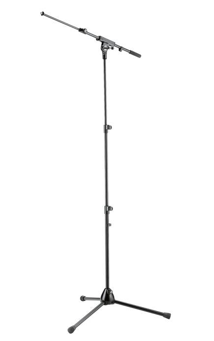 K&M - 25200-300-55 - Mic Stand With Three-Piece Telescoping Shaft.