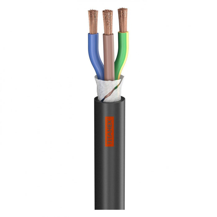 Sommer Cable - Titanex 2.5mm - Rubber Sleeve Power Cable
