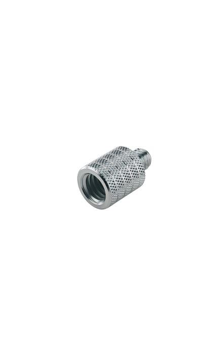 "K&M - 21800-000-29 - Thread Adapter - 1/2"" Female To 3/8 Male."