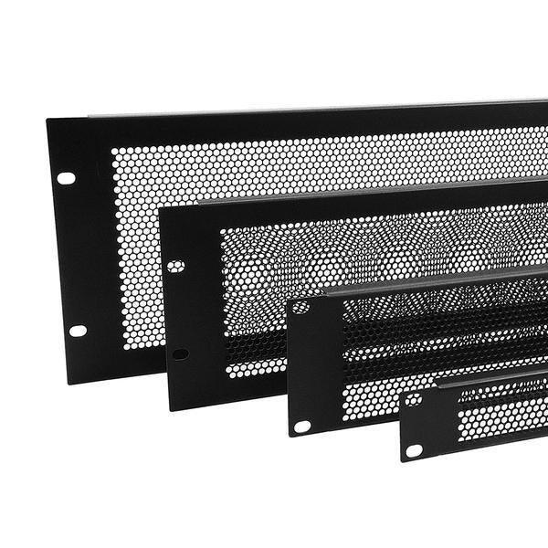 Penn Elcom - R1286/3UVK - Perforated Steel Rack Panel.