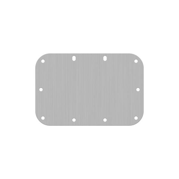 Penn Elcom - H1085 - Solid Backplate for Medium Recessed Handles