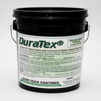 Duratex - Roller Grade - Black
