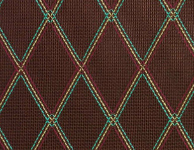 Grill Cloth - Brown With Diamond Pattern - Vox Type.