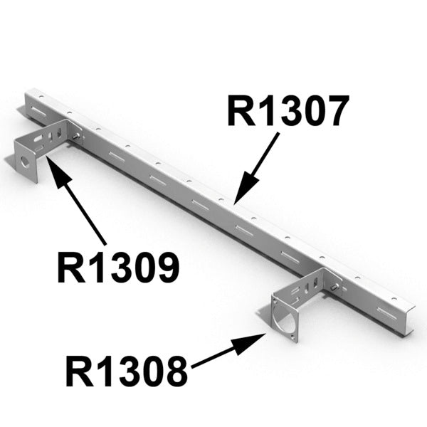 "Penn Elcom - R1307 - Lacing Strip for 19"" Rack Panels."