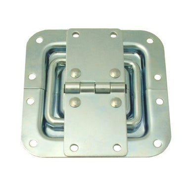 Penn Elcom - P2593Z - Hinge with Lid Stay in 7mm Shallow Dish.