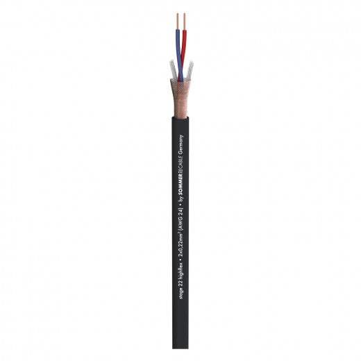 Sommer Cable - Stage 22 Highflex - Black