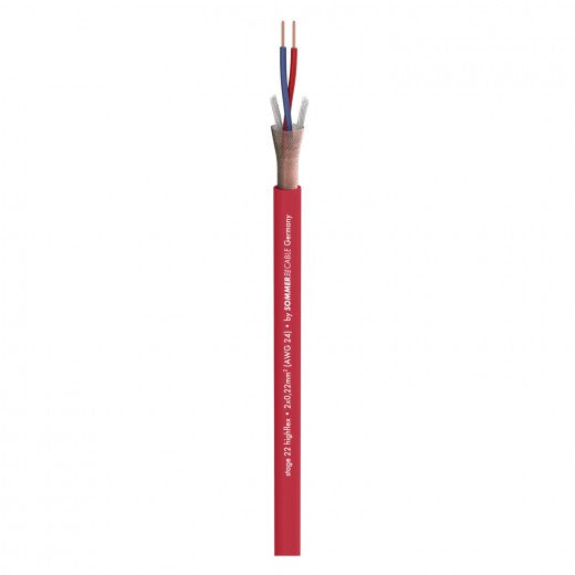 Sommer Cable - Stage 22 Highflex - Red