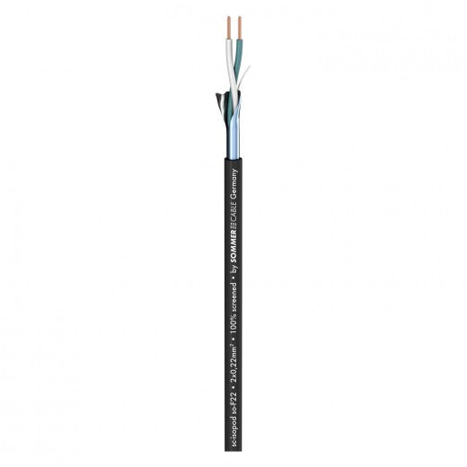 Sommer Cable - Isopod So-F22 - Black FRNC