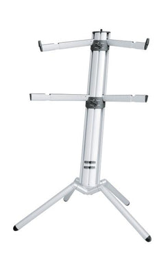 K&M - 18860-000-30 - Spider Pro Keyboard Stand - Anodized Aluminum.