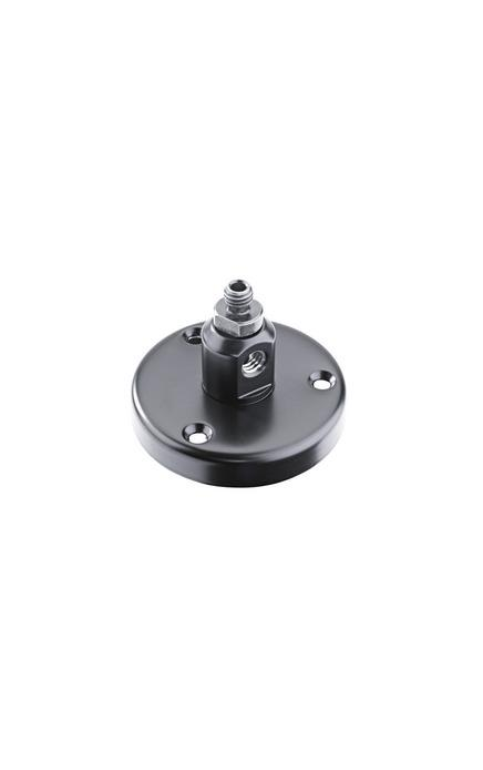 "K&M - 22130-300-55 - Also Known As 221c - Table Flange - With Adjustable 3/8"" Hexagonal Screw To Connect Goosenecks Etc."