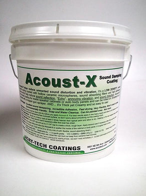 Duratex - ACOUSTX Sound Damping Coating