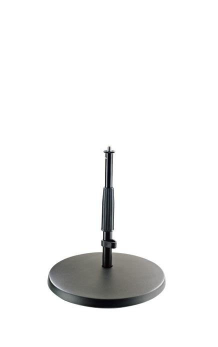 K&M - 23320-300-55 - Mic Stand - Low With Heavy Cast Iron Base.